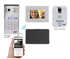 GBF-Four Wire Smart Intercom System for main gate and front door (PL960C4 &PL270C4)