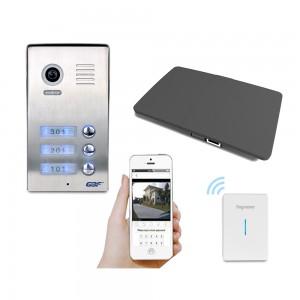 GBF 3 units apartment building smart intercom-C