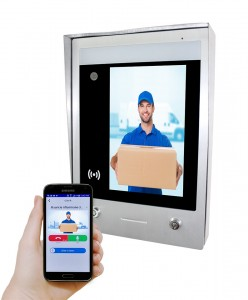 GBF SentryLink Door Station with raincover (Surface mounted)