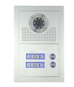 Oudoor station with 2 push buttons PL591BC4(2)